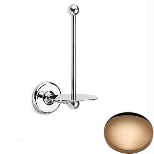 Antique Gold Samuel Heath Novis Spare Toilet Roll Holder N1031