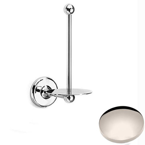 Polished Nickel Samuel Heath Novis Spare Toilet Roll Holder N1031