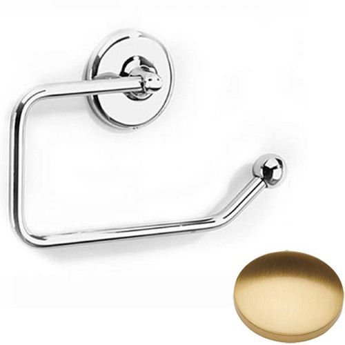 Brushed Gold Gloss Samuel Heath Novis Toilet Paper Holder N1037