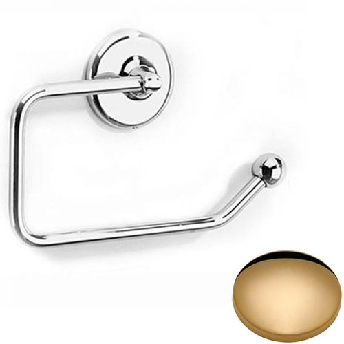 Non-Lacquered Brass Samuel Heath Novis Toilet Paper Holder N1037