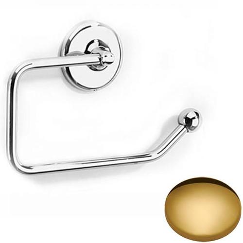 Polished Brass Samuel Heath Novis Toilet Paper Holder N1037