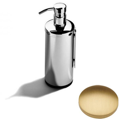 Brushed Gold Matt Samuel Heath Novis Wall Mounted Soap Dispenser L303