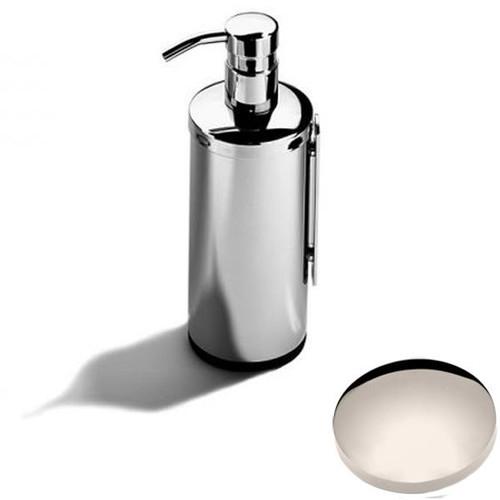 Polished Nickel Samuel Heath Novis Wall Mounted Soap Dispenser L303