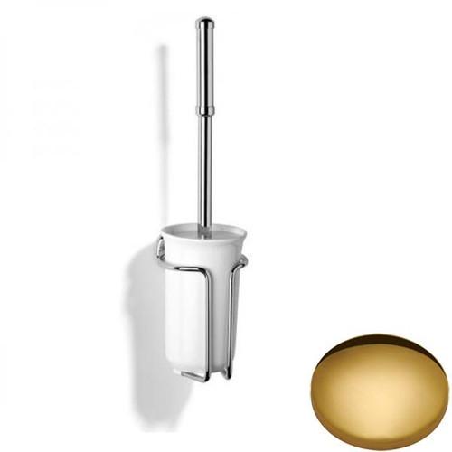 Polished Brass Samuel Heath Novis Wall Mounted Toilet Brush N1049