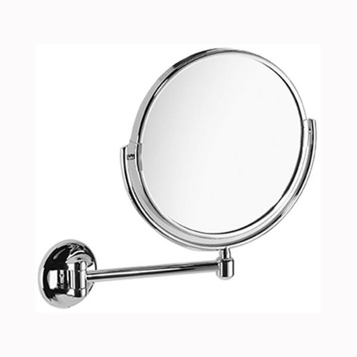 Chrome Plated Samuel Heath Novis Pivotal Mirror Plain / Magnifying X3 L119