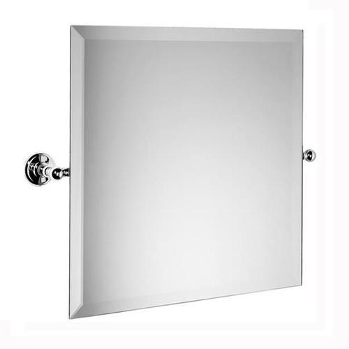Chrome Plated Samuel Heath Novis Square Tilting Mirror L1143
