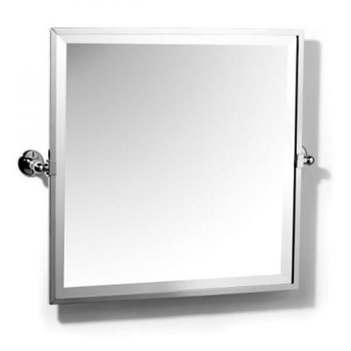 Chrome Plated Samuel Heath Novis Framed Bevelled Tilting Mirror L1149