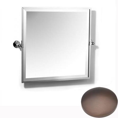 City Bronze Samuel Heath Novis Framed Bevelled Tilting Mirror L1149