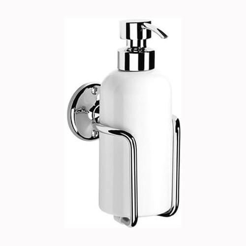Chrome Plated Samuel Heath Curzon Liquid Soap Dispenser N47
