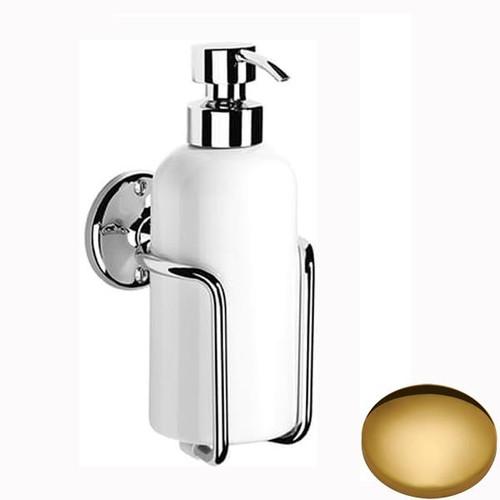 Polished Brass Samuel Heath Curzon Liquid Soap Dispenser N47
