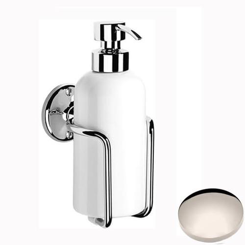 Polished Nickel Samuel Heath Curzon Liquid Soap Dispenser N47