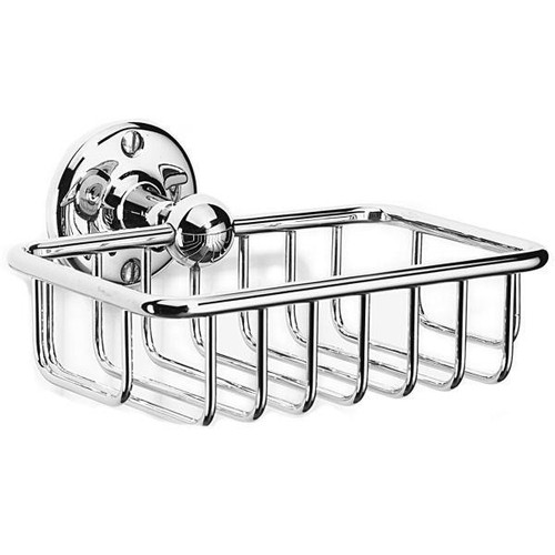 Chrome Plated Samuel Heath Curzon Soap Basket N30