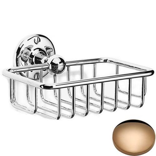 Antique Gold Samuel Heath Curzon Soap Basket N30