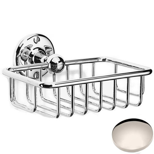 Polished Nickel Samuel Heath Curzon Soap Basket N30