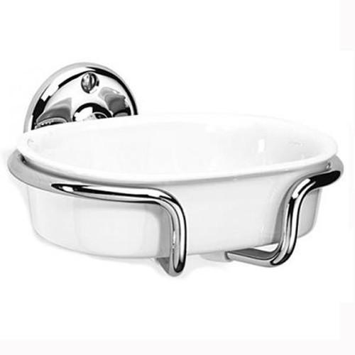 Chrome Plated Samuel Heath Curzon Soap Holder N34