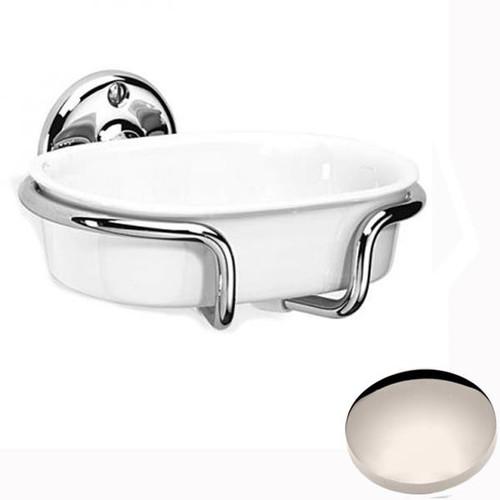Polished Nickel Samuel Heath Curzon Soap Holder N34