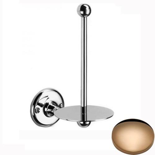Antique Gold Samuel Heath Curzon Spare Toilet Roll Holder N31