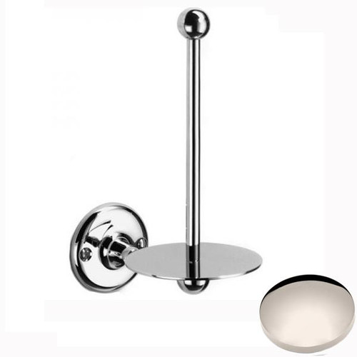 Polished Nickel Samuel Heath Curzon Spare Toilet Roll Holder N31