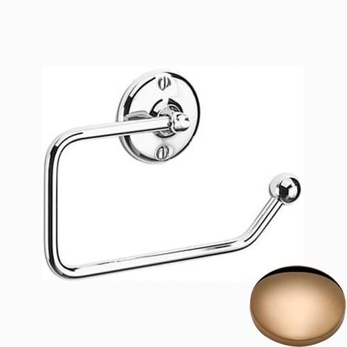 Antique Gold Samuel Heath Curzon Toilet Roll Holder N37