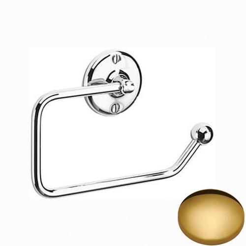 Polished Brass Samuel Heath Curzon Toilet Roll Holder N37