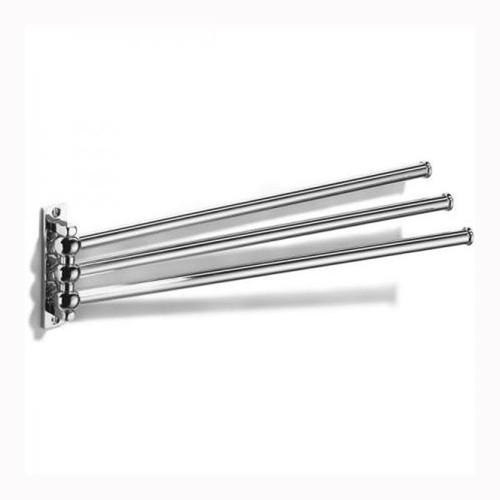 Chrome Plated Samuel Heath Curzon Swivel 3 Arm Towel Rail N94-3