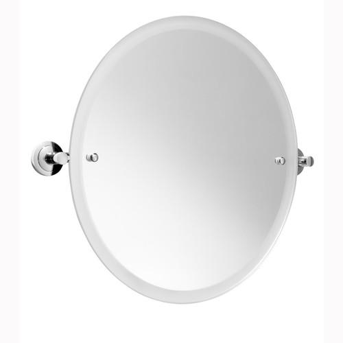Chrome Plated Samuel Heath Series 7000 Round Tilting Mirror N7060