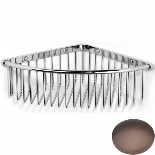 City Bronze Samuel Heath Deep Corner Shower Basket N151