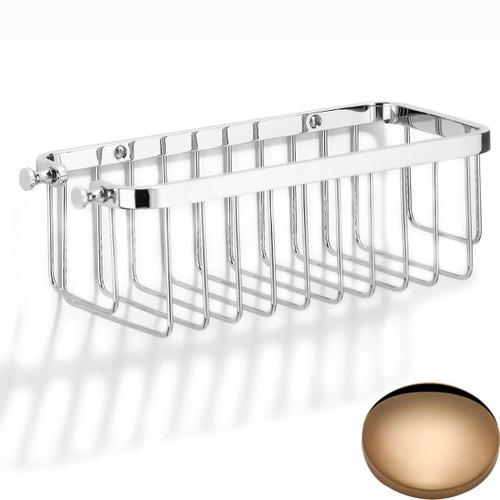Antique Gold Samuel Heath Hook Shower Basket N28
