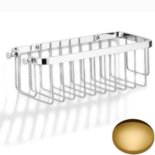 Polished Brass Samuel Heath Hook Shower Basket N28