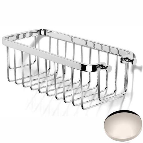 Polished Nickel Samuel Heath Hook Shower Basket N152