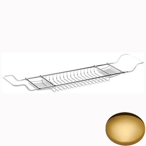 Polished Brass Samuel Heath Soap & Sponge Tray Extra Wide N334