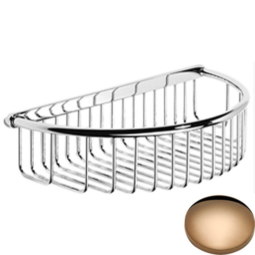Antique Gold Samuel Heath Shower Basket N154