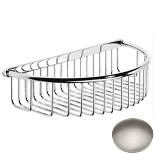 Stainless Steel Finish Samuel Heath Shower Basket N154