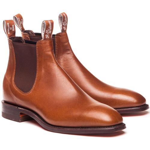 Tanbark R.M. Williams Mens Kangaroo Comfort Craftsman Boots