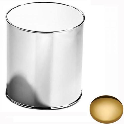 Polished Brass Samuel Heath Bathroom Bin L10