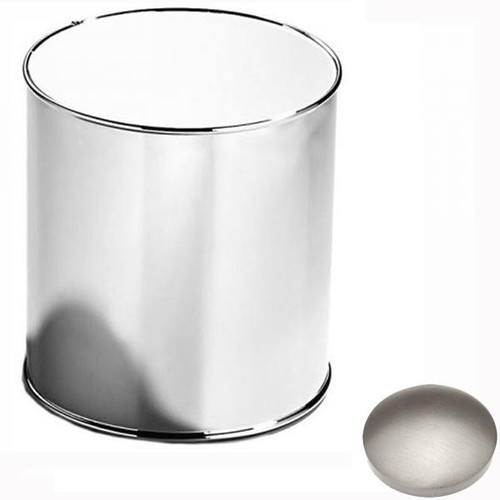 Stainless Steel Finish Samuel Heath Bathroom Bin L10