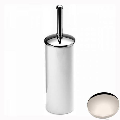 Polished Nickel Samuel Heath Freestanding Toilet Brush L49