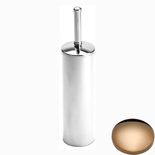 Antique Gold Samuel Heath Freestanding Toilet Brush L44