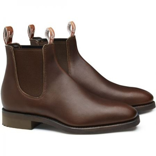 Brown R.M. Williams Mens Lachlan Boots