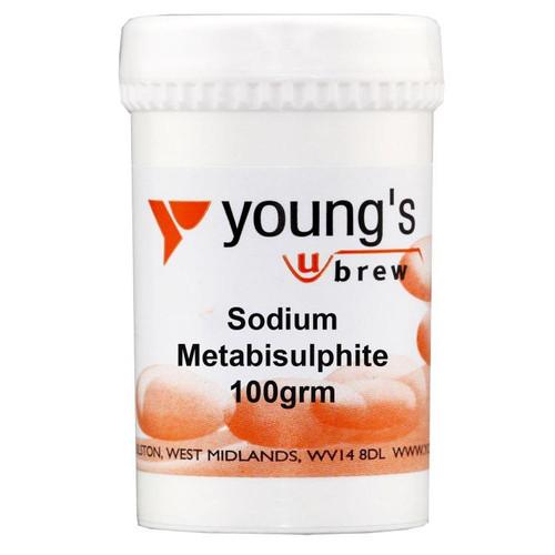 Youngs 100g Sodium Metabisulphite