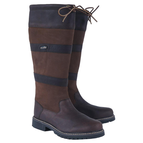 Brown Orca Bay Unisex Orkney Leather Boots