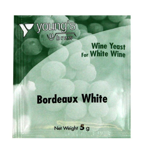 Youngs 5g Bordeaux White Wine Yeast Sachet