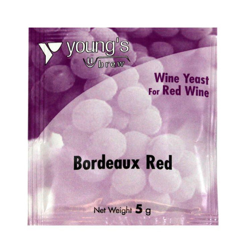 Youngs 5g Bordeaux Red Wine Yeast Sachet