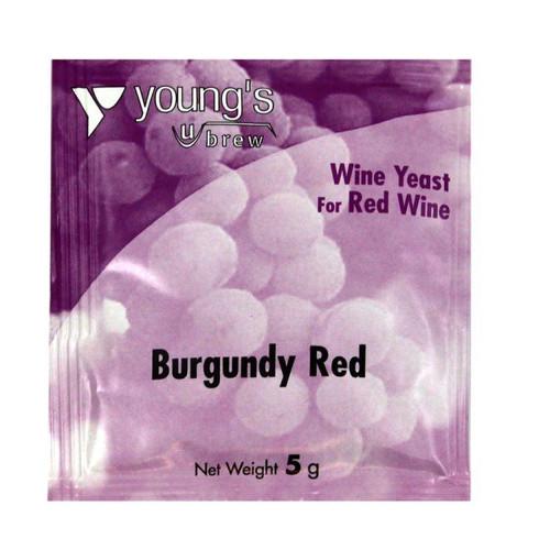 Youngs 5g Burgundy Red Wine Yeast Sachet