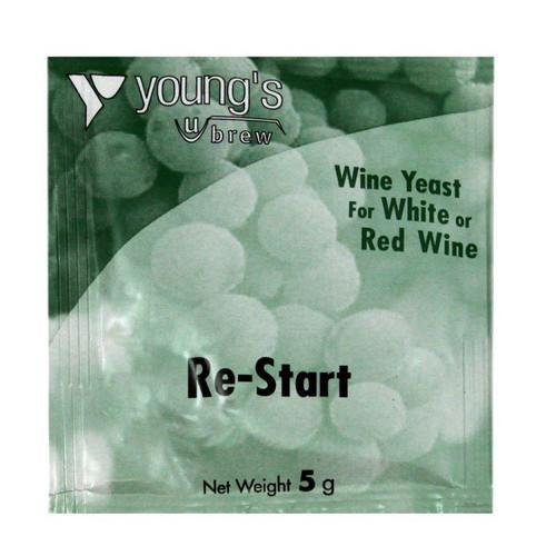 Youngs 5g Re-Start Wine Yeast Sachet