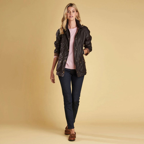 Barbour Womens Beadnell Wax Jacket