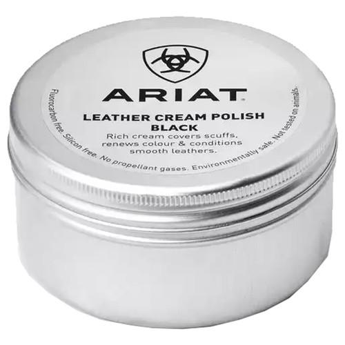 Black Ariat Leather Cream Polish
