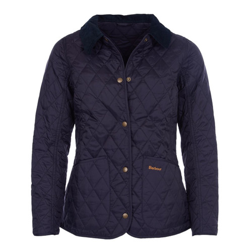 Navy Barbour Womens Annandale Quilted Jacket