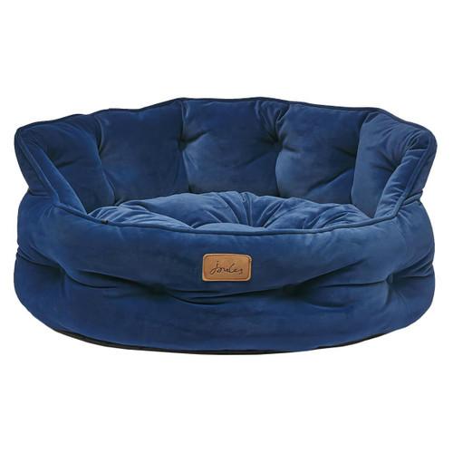 Joules Velvet Chesterfield Pet Bed