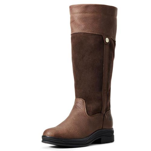 Dark Brown Ariat Womens Windermere II H2O Boots